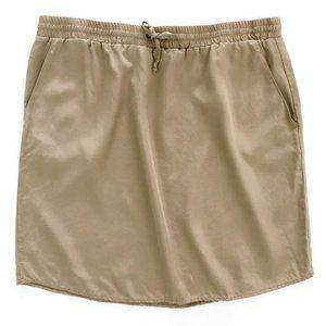 WORKSHOP Women's Andrea Jovine Drawstring Skirt XL